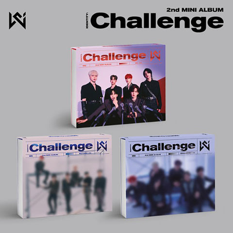 WEi 2ND MINI ALBUM 'IDENTITY : CHALLENGE' + POSTER
