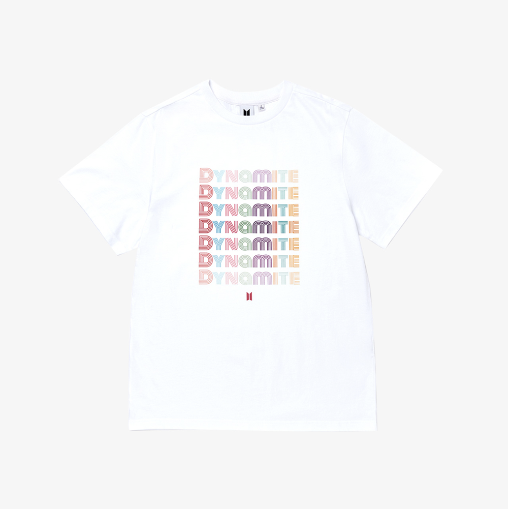 BTS OFFICIAL 'DYNAMITE S/S T-SHIRT'