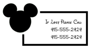 28 Mickey Icon Emergency Contact Tattoos
