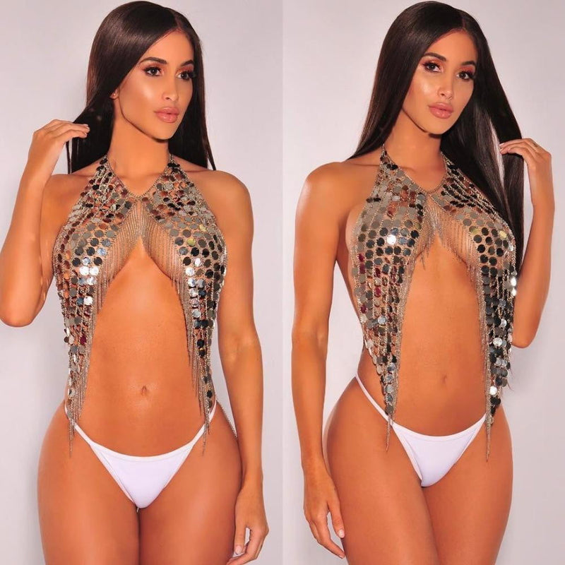 Magnificent Sequins Body chain