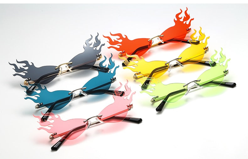 Fire Flame Sunglasses