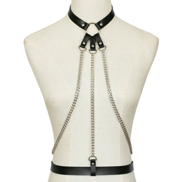 New Leather Gothic Choker