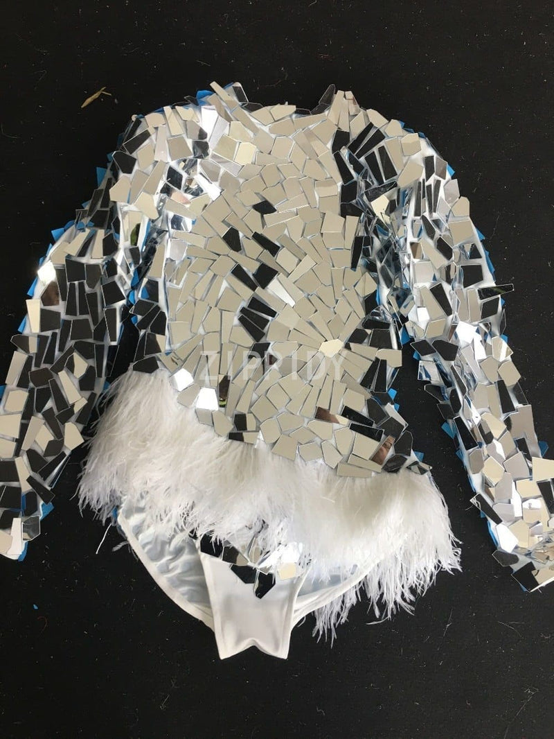 Mirrors & Feathers Bodysuit