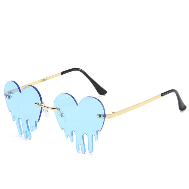 Dripping Heart Rave Eyewear