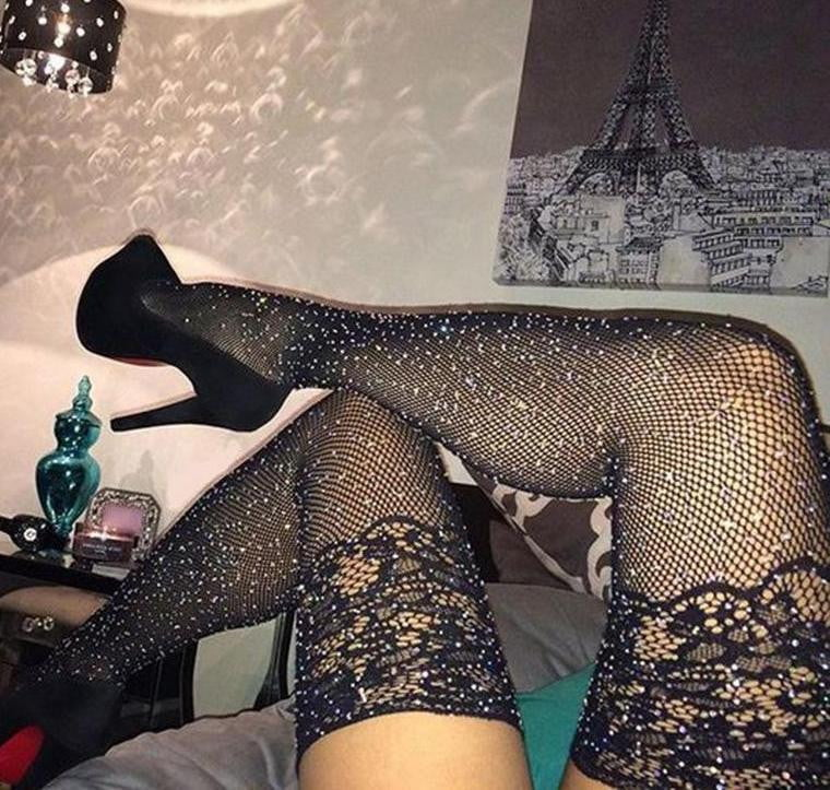 Sexy black Lace Tights