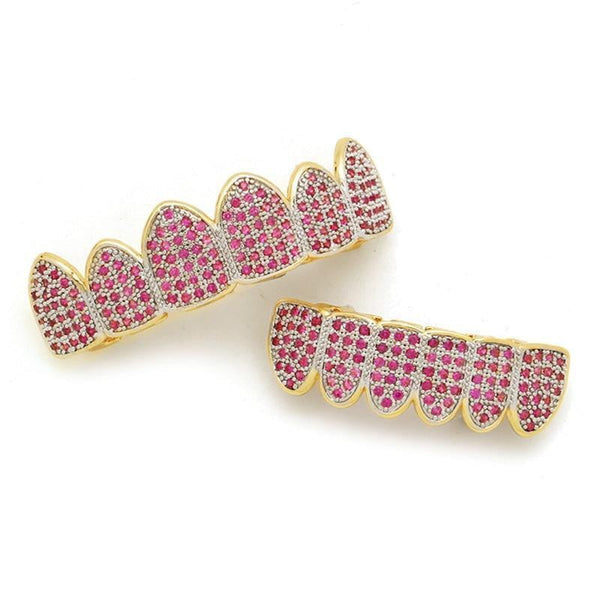 Pink Grillz 4 Girlz Set