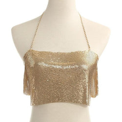 Rhinestone Top Chain