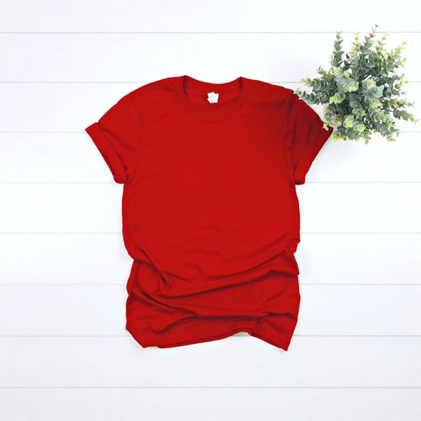 Unisex Soft Tee - Red