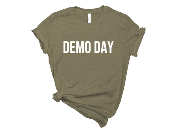 Demo Day Tee - Military Green