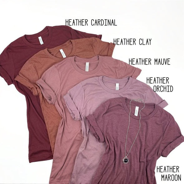 Unisex Soft Tees - Mauve Collection