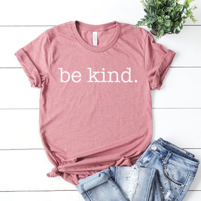 Be Kind Unisex Tee - Mauve