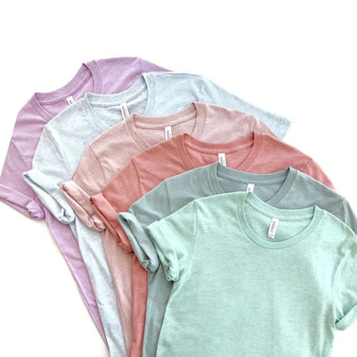 Soft Short Sleeve Tees