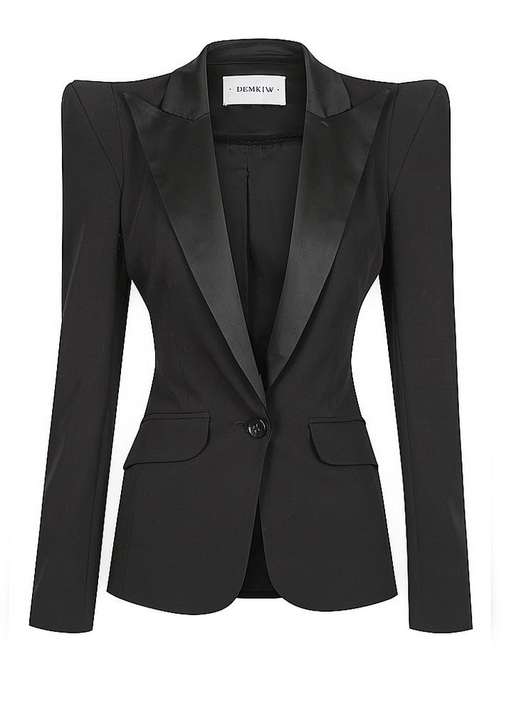SIGNATURE HIGH SHOULDER TUXEDO JACKET - PRE-ORDER NOW