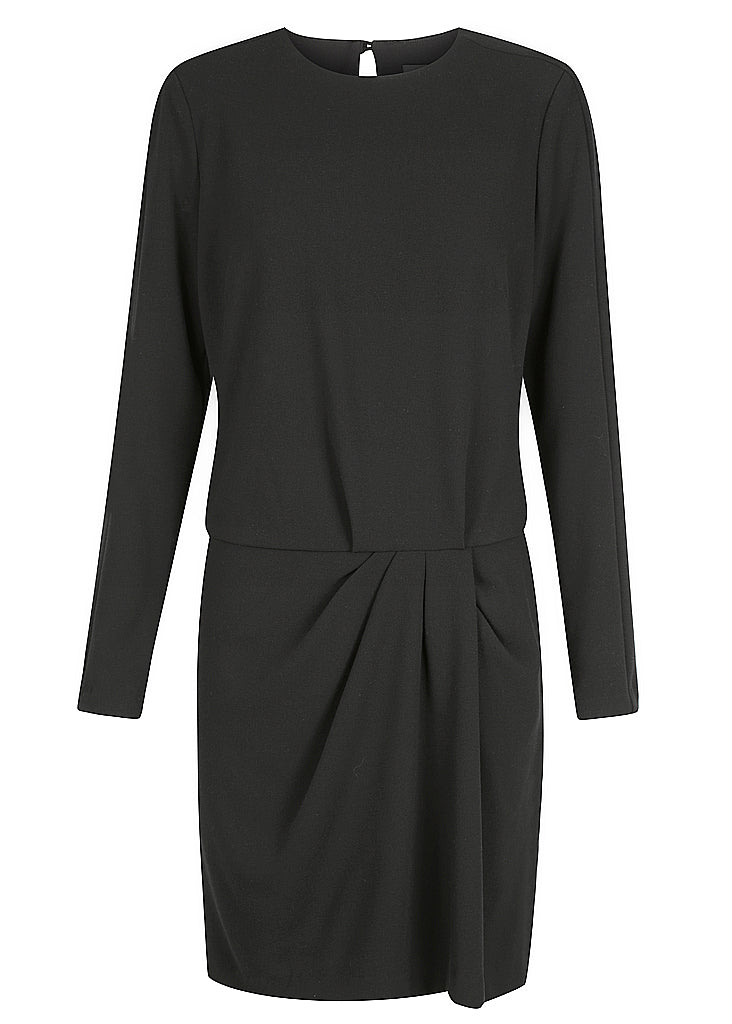 TALIA CREPE DRESS BLACK