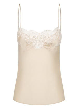 French Lace Silk Cami