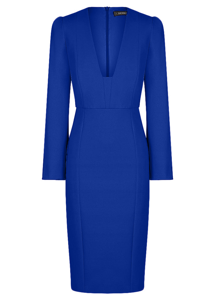 She Evolves Body Con Dress - Electric Blue - NEW ARRIVAL