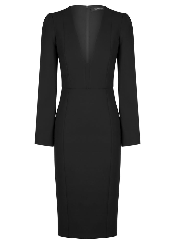 She Evolves Body Con Dress - Black - NEW ARRIVAL
