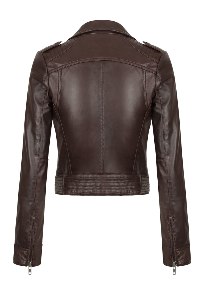 The Runway Biker - DEMKIW - Burgandy - PRE-ORDER NOW
