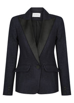 Parisian Boucle Shoulder Tuxedo 1.02 - Ink Navy - NEW ARRIVAL