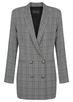 Tuxedo Dress Coat Jacket 2.2 - Black Check - NEW ARRIVAL