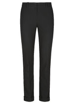 Man Style High Rise Trouser - Black
