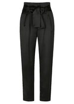 Satin Lover Harem Trouser - Black
