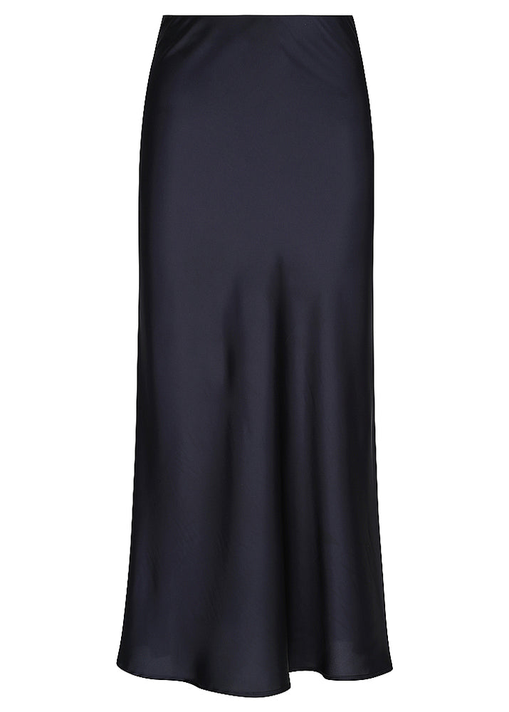 Liquid Slip Skirt - Ink Navy
