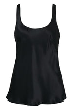 Bias Silk Cami - Black