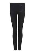 Stretch Leather Cigarette Pant - DEMKIW
