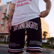 'Year of Survival' Retro Basketball Shorts