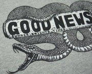 'GOOD NEWS' Cotton Hoodie