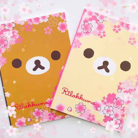 Rilakkuma Cherry Blosson Notebook