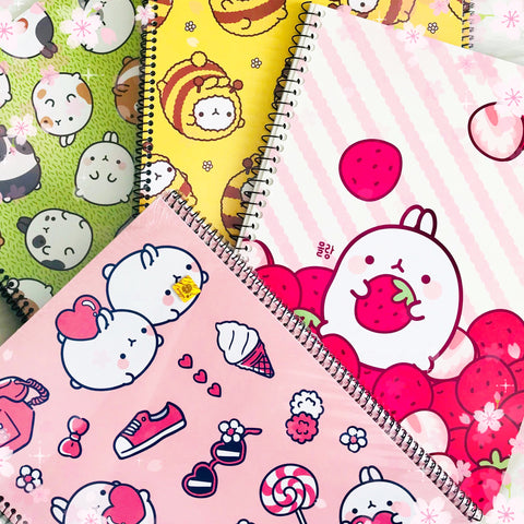 Molang Full Sized Notebook