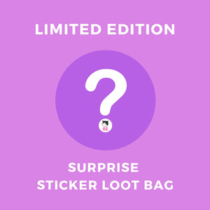 Kawaii Stickers Loot Bag