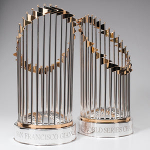 San Francisco Giants World Championship Trophy after repair and polishing.