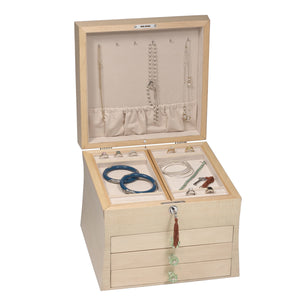 Pacifica Jewelry Box with Lock