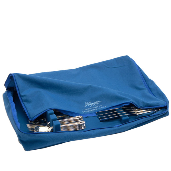 Zippered Silverware Storage Drawer Liner