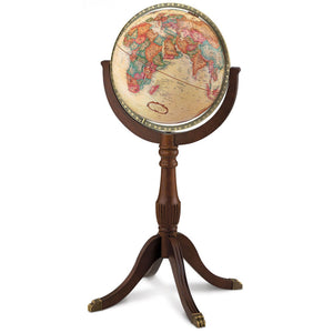 Sherbrooke II Ornate Standing World Globe