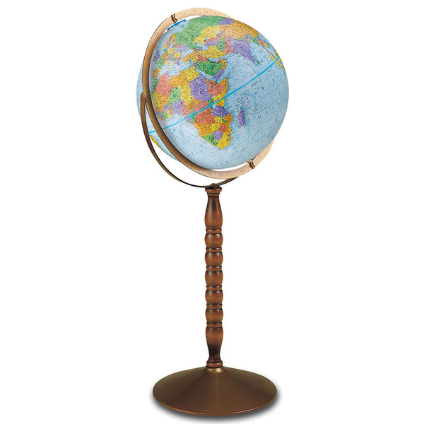 Treasury Floor Standing World Globe
