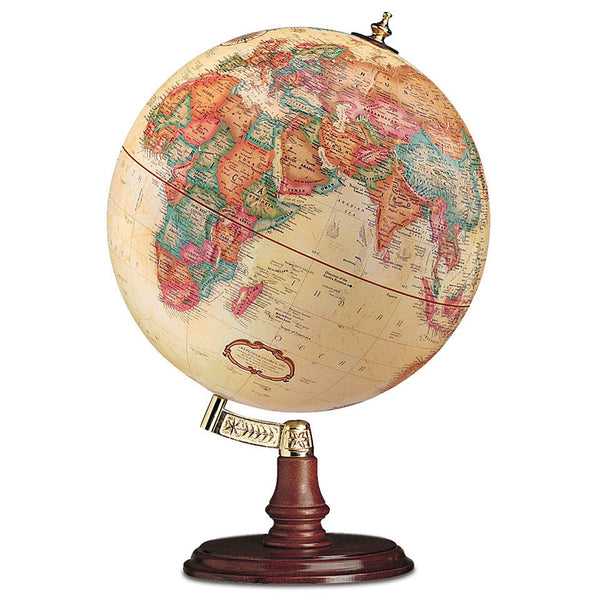 Antique Ocean World Desk Globe