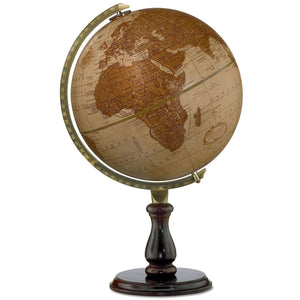 Leather Expedition World Desk Globe