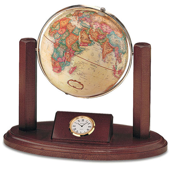 Executive world desk globe.