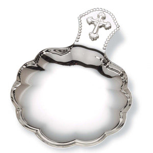 Silver Plated Baptismal Shell