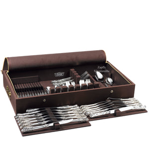 Manchester Zippered Canvas Silverware Chest