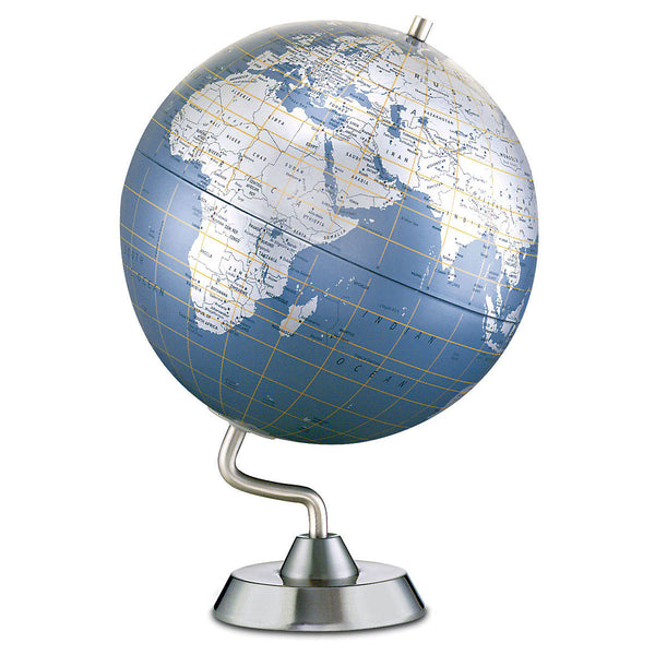 Diamond Marquise Desk Globe Blue Ocean