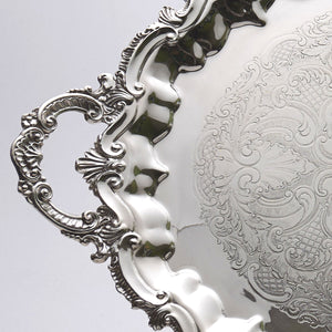 Birmingham Silver Company Serving Tray Handle