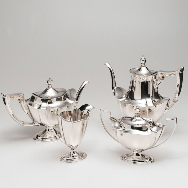 Gorham Plymouth Sterling Silver Coffee Tea Set
