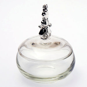 Gorham Royal Danish sterling silver power jar.