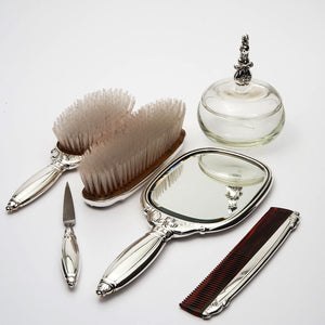 Gorham Royal Danish six piece sterling silver vanity set