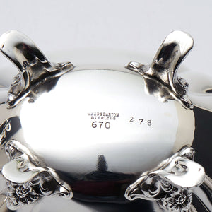 "Reed & Barton Sterling Silver Coffee Service ""Hampton Court"" Hallmark"